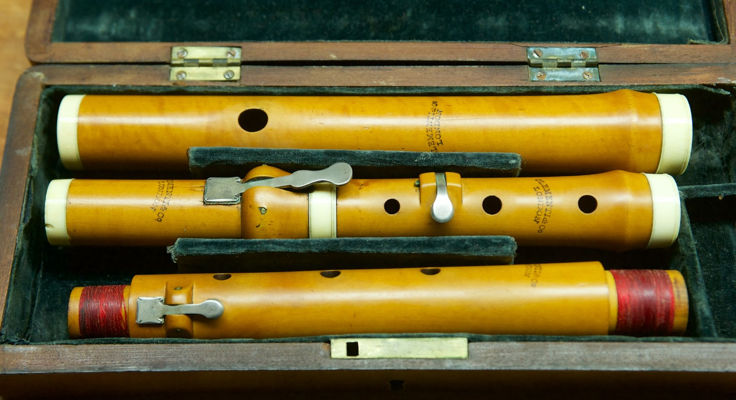 Clementi, London | Original Flutes Collection of Michael Lynn